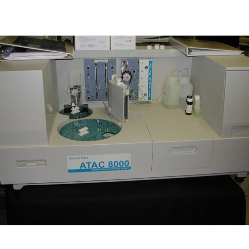 VItal Diagnostics ATAC 8000 Chemistry Analyzer